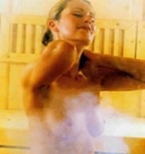 Bio-sauna ou 'Tonic sauna' avec fours combi