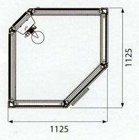 Tylö stoomdouche i110/c
